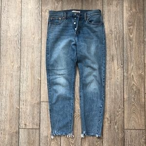 levi's wedgie fit jeans - shut up